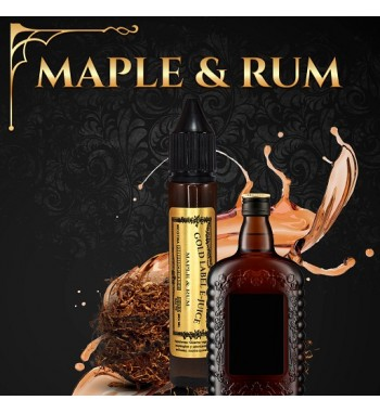 Maple & Rum ejuice